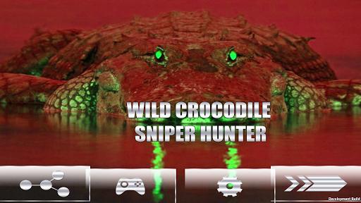 野生鱷魚獵人狙擊手