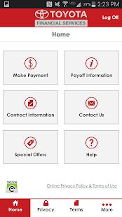 myTFS - Toyota Financial - screenshot thumbnail