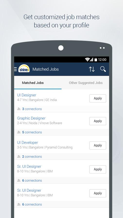 shine search android apps on play