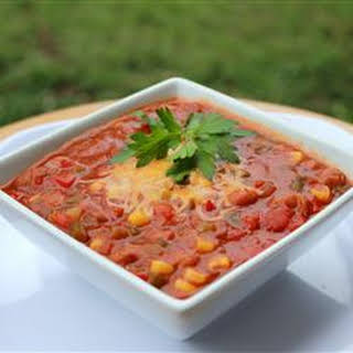 Zippy Vegetable Chili.