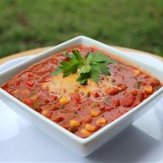 Zippy Vegetable Chili.