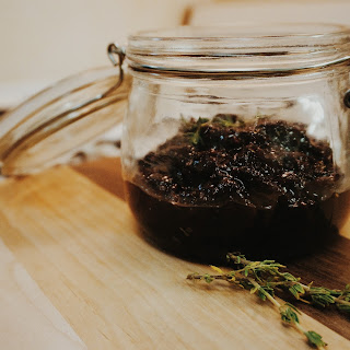 Duck Bacon Jam with Coffee & Thyme.