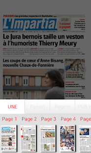 L'Impartial journal- screenshot thumbnail
