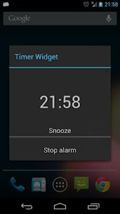 Holo Timer Widget- screenshot thumbnail