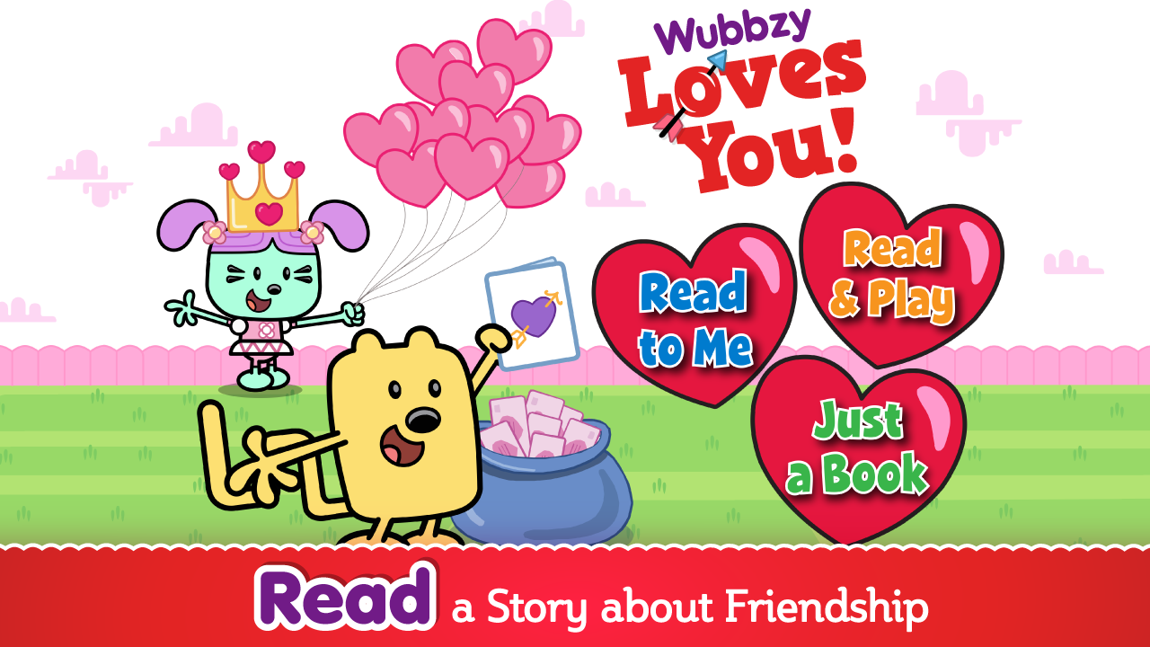 Wubbzy Loves You- screenshot