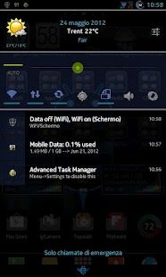 CM10.1 cm10 AOKP THEME X-Honey - screenshot thumbnail