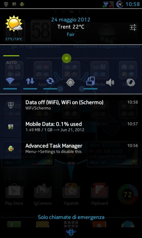 CM10.1 cm10 AOKP THEME X-Honey - screenshot
