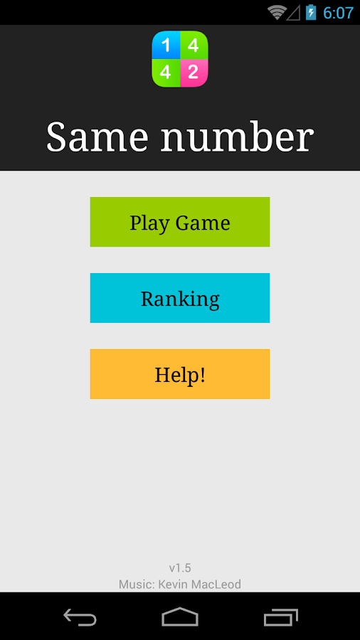 Number Hero: Find Same Number - screenshot