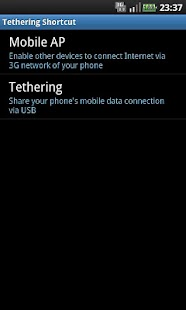 Tethering Shortcut - screenshot thumbnail