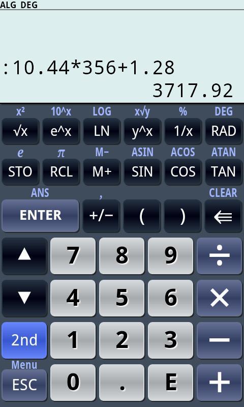 PG Calculator (Standard)- screenshot