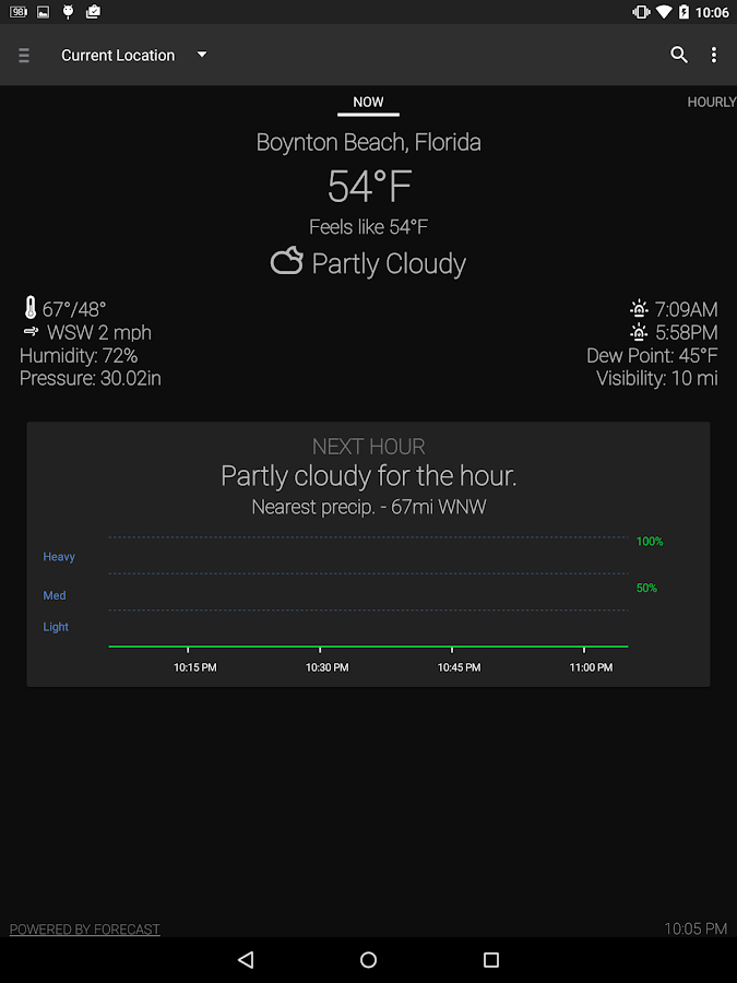Arcus Weather - screenshot
