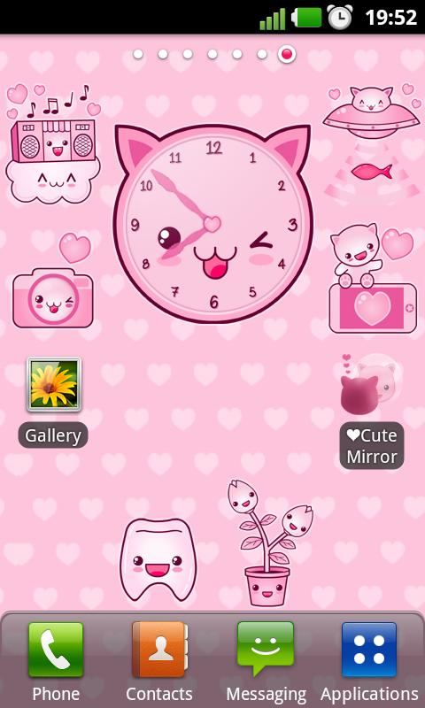 Cute Widget Pack: captura de tela