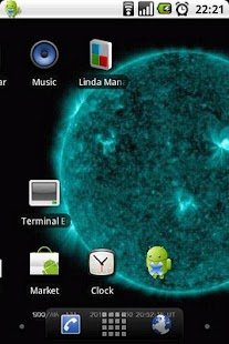 Sun Live Wallpaper Free- screenshot thumbnail