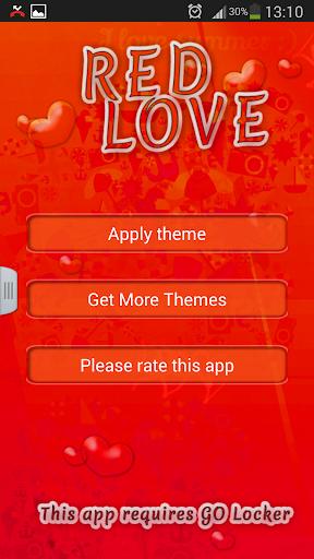 GO锁屏红色爱情