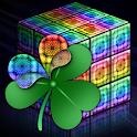 GO Launcher Style rainbow cube icon