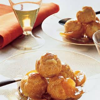 Caramel Pear Slices.