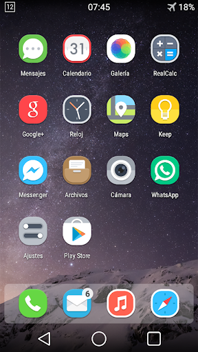 Ethereal icons Solo Launcher