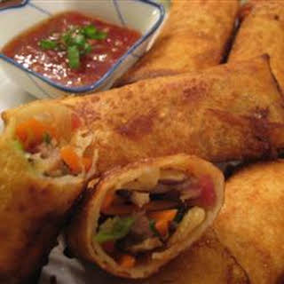 Authentic Chinese Egg Rolls.