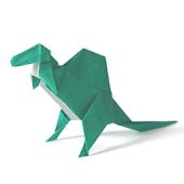 Dinosaur Origami 9