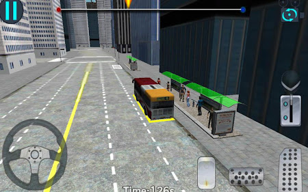 3D City driving - Bus Parking 1.2 screenshot 639141