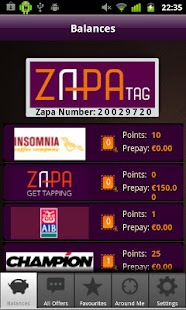 Zapa Tag - screenshot thumbnail