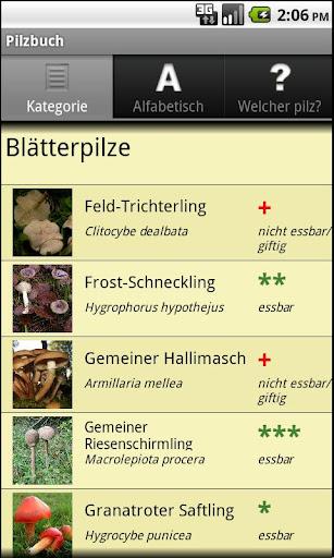 Pilzbuch PRO