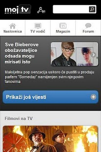 Moj TV- screenshot thumbnail