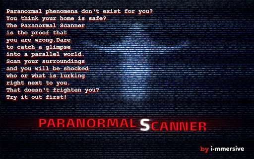 Paranormal Scanner