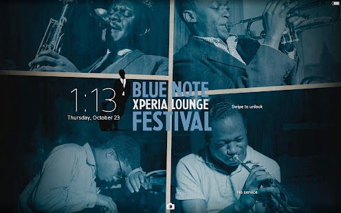 XPERIA™ Blue Note Story Theme- screenshot thumbnail