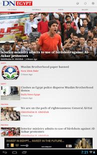Daily News Egypt - screenshot thumbnail