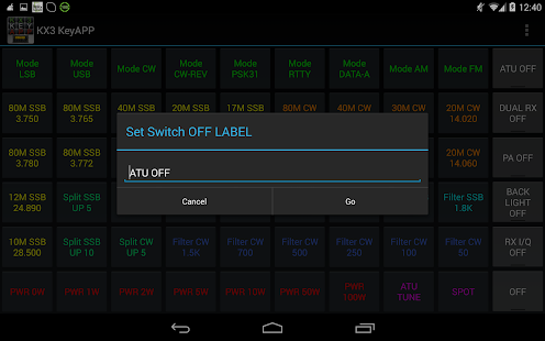 KX3 KeyApp for Ham Radio- screenshot thumbnail