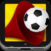 Fußball Jubel & Tröte