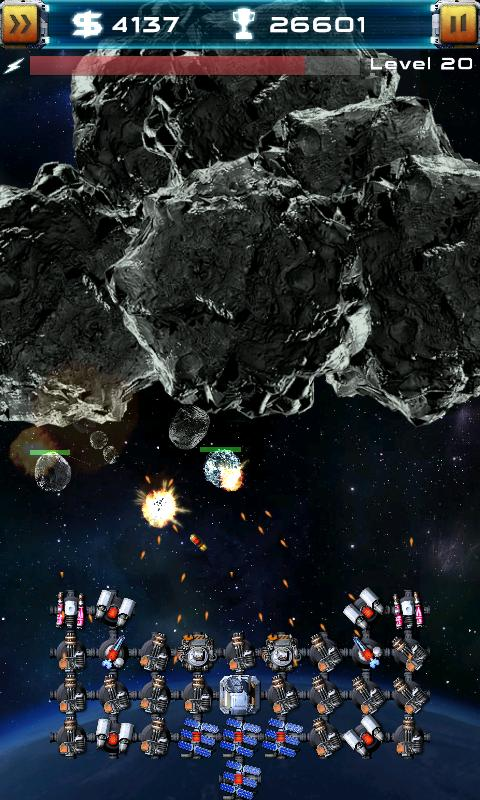 Asteroid Defense Classic- screenshot