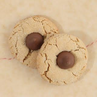 Lauren's Peanut Butter Kiss Cookies.