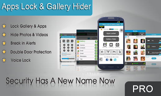Apps Lock & Gallery Hider Pro - screenshot thumbnail