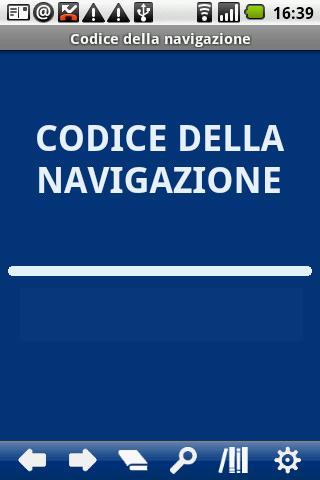 Italian Navigation Code