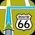 ROUTE 66 Navigate icon