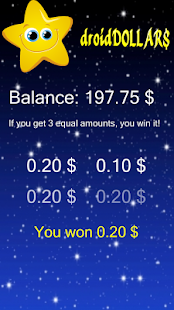 droidDOLLAR$ > WIN DOLLAR$