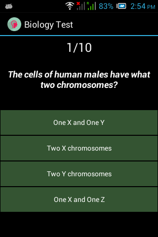 biology quiz 4 Biology news practice quizzes the practice quizzes test your knowledge of the important concepts in each chapter and provide an explanation for each answer.