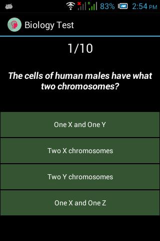 General biology quiz 2
