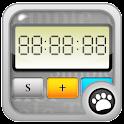 A simple timer logo