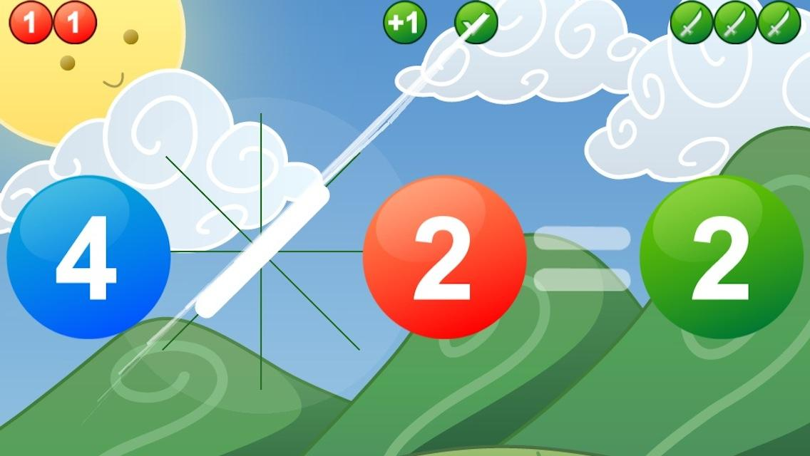 MATH SAMURAI  kids arithmetic- screenshot