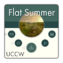 Flat Summer theme UCCW skin icon