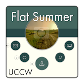 Flat Summer theme UCCW skin
