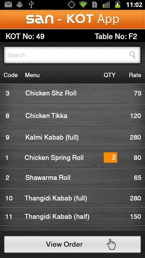 Restaurant Kitchen Order Display restaurant waiter app for pos - android apps on google play