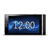Sony Xperia S Desk Clock