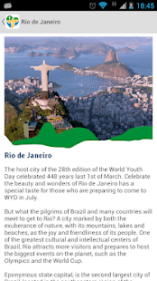 Rio2013 - Official App- screenshot thumbnail