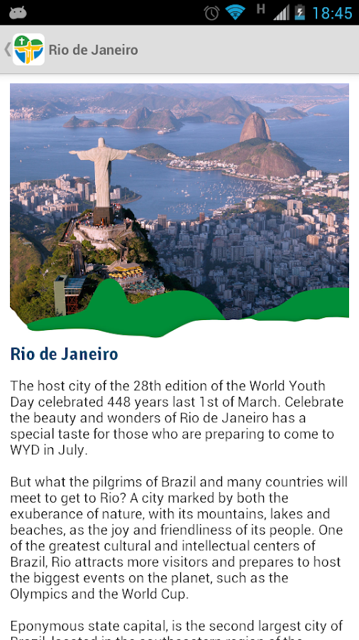 Rio2013 - Official App - screenshot