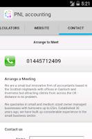 Screenshot of PNL Accounting