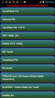 Screenshot of Tamil Radio Online